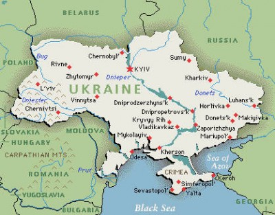 "Carte Ukraine - <span class=""caps"">DR</span>"