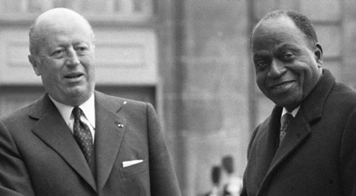 Foccart & Houphouet Boigny les pères fondateurs de la francafriique-D.R