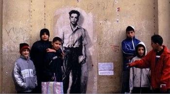 Maurice Audin à Alger par Ernest Pignon - DR